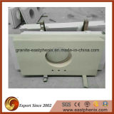 Kitchen Bathroom를 위한 최신 Sale Beige Quartz Stone Vanity Top