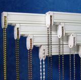 encadenamiento del acero inoxidable del grano del metal de 4.5m m para las persianas de rodillo