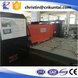 Prensa material interior automotora hidráulica del corte