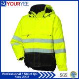 Допустимый Hi куртка дождя визави с лентой 3m отражательной (YFS114)