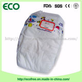Une couche-culotte bon marché remplaçable de bébé d'OEM Peaudouce de pente avec la feuille arrière respirable