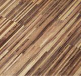 Planta personalizada de múltiples capas de madera de nogal Arte