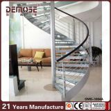 Entwurfs-gewundenes Glasinnentreppenhaus (DMS-B1003)