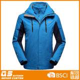 1枚の通気性の冬季スポーツのジャケットに付き人3枚