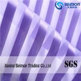 China Supply Popular Stripe Organza Fabric