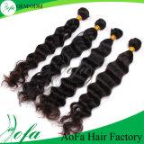 Accessori grezzi dei capelli dei capelli umani di a buon mercato 100% per l'onda del corpo