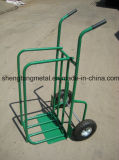 2 in 1 Multi Function Folding Firewood Metal Schwer-Aufgabe Hand Trucks