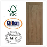 BS 476 CertificateとのFire 2時間のRated Wood Door/Solid Fire Rated Door