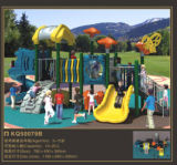 Kaiqi medium -Sized Playground van Colourful Children met Rock Climbing en Slides (KQ50079B)