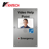 "7 "" teléfono video Knzd-60 de la puerta del IP del intercomunicador del SORBO de Digitaces TFT-LCD"