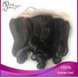 Do laço frouxo da onda da qualidade superior cabelo humano frontal