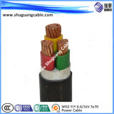 Electrical/XLPE ou PVC Insulation/PVC ou cabo distribuidor de corrente Sheathed/PE