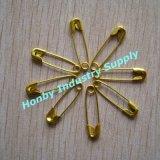 Charmante Gouden Kleur 19mm de Spelden van de Lijn van de Veiligheid voor Juwelen en Kledingstuk (P160714B)