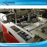 Doubles lignes sac chaud de T-shirt de gilet de HDPE de Cuting faisant la machine
