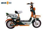 大きいサドルの通勤者の電気自転車、大人のための電気スクーターの自転車