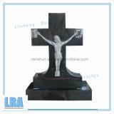 Pietra tombale/monumento/lapide naturali del granito per stile americano