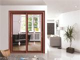 Алюминиевая стеклянная раздвижная дверь 3402
