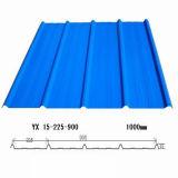 Überzogenes gewölbtes Stahldach-Blatt färben