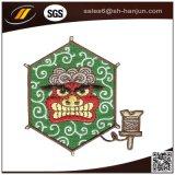 Emblema tecido ferro personalizado da farda da escola da alta qualidade