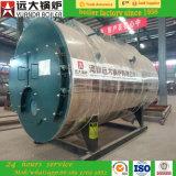 2ton/H水平射撃の管の自然なガス燃焼の蒸気ボイラ