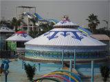 Qualität wasserdichtes lebendes mongolisches Yurt Zelt