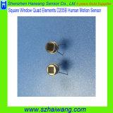 Sensor radial infravermelho D205b de Pyroelectric do indicador quadrado