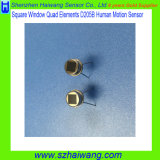 Sensor radial infrarrojo D205b de Pyroelectric de la ventana cuadrada