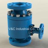 Válvula automática da recirculação do aço de carbono