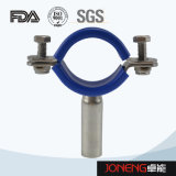 Stainless Steel Food Grade buisklem met blauwe mouwen (JN-PL2002)