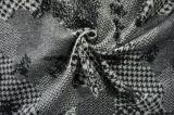 Tres diversos estilos de la tela de las lanas de Black&White