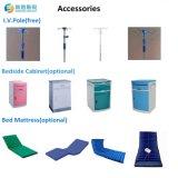 중국 공급자 5 불안정한 전기 조정가능한 의학 침대