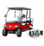 Горячая продавая тележка гольфа 6 мест электрическая сделанная Hdk Изготовлением