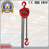 alzamiento de cadena de 1t 2t 5ton 10ton Kixio, bloques de cadena manuales