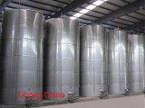 El tanque de acero inoxidable para la producción de vino