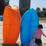 حار بيع شاطئ السفر نفخ الهواء التخييم كيس النوم في الهواء الطلق ل