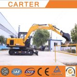 カーターHot Sales CT85-8b (8.5t) Crawler Hydraulic Backhoe Excavator