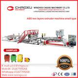 Linha de produção plástica máquina da extrusora da placa da folha das Dois-Camadas do ABS (tipo menor)