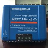Regulador solar del cargador de batería del gel LiFePO4 del AGM de Fangpusun 12V 24V 36V 48V 45A MPPT con el Ce RoHS