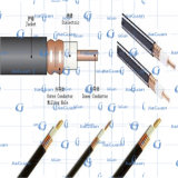 De ondergrondse Coaxiale Kabel Qr500 P3 500 Jca Rg500 van de Kabel