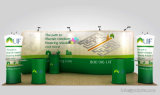 Алюминий Pop вверх Ez-Tube Tradeshow/фон Banner Display Exhibition