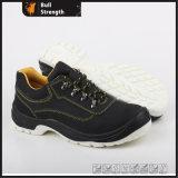 سوداء [نوبوك] جلد فولاذ إصبع قدم غطاء أمان حذاء [سن5275]