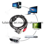 DVI에 고속 HDMI Male (24+1) HDTV를 위한 Male Cable