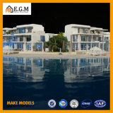 표시 제조의 고품질 아BS 별장 모형 /House 모형 또는 부동산 모형 또는 모든 종류