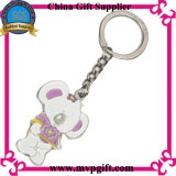 Metal Key Ring com Design de Moda
