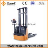 Impilatore elettrico di nuova vendita calda con 1.2 altezza di sollevamento di capienza di caricamento di tonnellata 3.0m