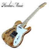 Hanhai Musik/Teleart-ursprüngliche Halb-Hohle elektrische Gitarre