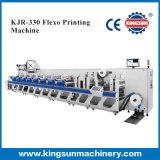 Tipo de alta velocidad impresora de la funda KJR330 de Flexo de la escritura de la etiqueta