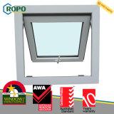Австралийское окно тента стандарта UPVC/Pvcu двойное застекленное