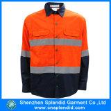 Uniforme reflexivo do trabalho da visibilidade elevada do Mens da manufatura de China