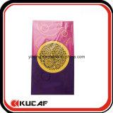 Casella cinese di colore rosso tagliata laser di nuovo anno della busta del documento della perla di abitudine